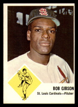 1963 Fleer #61 Bob Gibson Near Mint