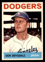 1964 Topps #120 Don Drysdale Very Good  ID: 302149