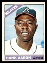 1966 Topps #500 Hank Aaron Excellent+  ID: 302161