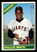 1966 Topps #1 Willie Mays VG-EX  ID: 302162