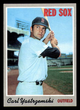 1970 Topps #10 Carl Yastrzemski Ex-Mint  ID: 302170