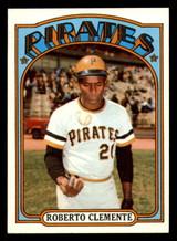 1972 Topps #309 Roberto Clemente Near Mint+  ID: 302197