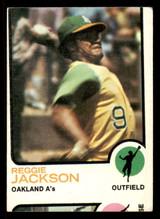 1973 Topps #255 Reggie Jackson Miscut  ID: 302201