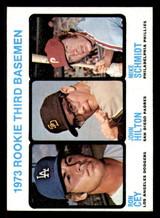 1973 Topps #615 Ron Cey/John Hilton/Mike Schmidt Rookie 3rd Basemen Near Mint RC Rookie
