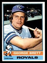 1976 Topps #19 George Brett Ex-Mint  ID: 302207
