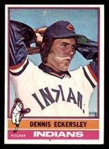 1976 Topps #98 Dennis Eckersley Near Mint RC Rookie  ID: 302215