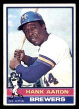 1976 Topps #550 Hank Aaron VG-EX