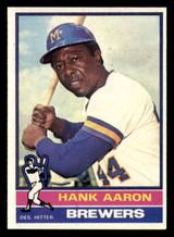 1976 Topps #550 Hank Aaron Near Mint  ID: 302221