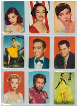 1955 General Mills  Stars Of MGM  17/18  Missing Marge & Gowen  """"