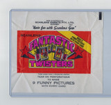 1973 Scanlens  Fantastic Twister  Wrapper  From Australia   #*
