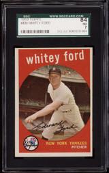 1959 Topps #430 Whitey Ford SGC 7 Near Mint