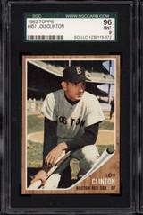 1962 Topps #457 Lou Clinton SGC 9 Mint
