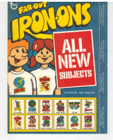 """1975 Topps Far-Out Iron-Ons 2nd Series Unopened (1)  """""""""""