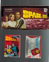 "1976 Donruss  Space 1999 Wax Box  24 Wax Packs  """""