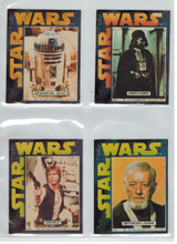 """1977 General Mills Star Wars Stickers 15/16  """"""""  4 by 5 Inches"""