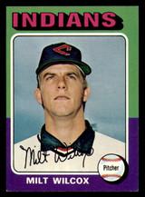 1975 Topps #14 Milt Wilcox Near Mint