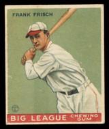 1933 Goudey V352 World Wide Gum #49 Frank Frisch EX+