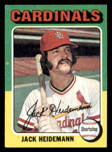 1975 Topps #649 Jack Heidemann Excellent