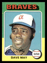 1975 Topps #650 Dave May Near Mint  ID: 302900