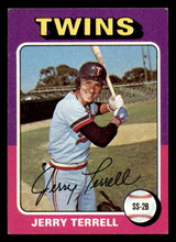 1975 Topps #654 Jerry Terrell Excellent+