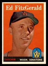 1958 Topps #236 Ed Fitz Gerald Ex-Mint