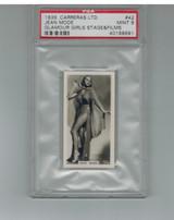 1939 Carreras Ltd Glamour Girls #42  Jean Mode  PSA 9 MINT  #*