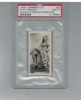 1939 Carreras Ltd Glamour Girls #29  Faith Francis  PSA 9 MINT  #*