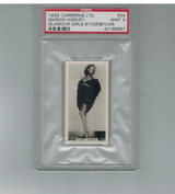 1939 Carreras Ltd Glamour Girls #34  Marion Harvey  PSA 9 MINT  #*