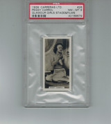 1939 Carreras Ltd Glamour Girls #26  Peggy Carroll  PSA  8 NM-MT  #*