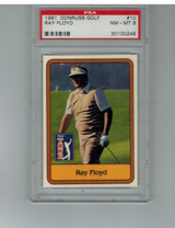 1981 Donruss #10  Ray Floyd  PSA 8 NM-MT  #*