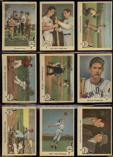 1959 Fleer Ted Williams Set (Missing #68) 79/80 Cards Overall EX-Mint/NM