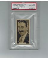 1929 Carreras Ltd. #16 Adolphe Menjou PSA 8 NM-MT  #*