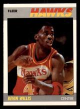 1987-88 Fleer #124 Kevin Willis Near Mint+ Basketball