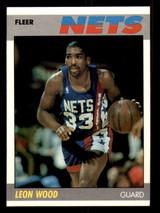 1987-88 Fleer #127 Leon Wood NM-Mint Basketball