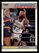 1987-88 Fleer #128 Mike Woodson Near Mint Basketball  ID: 303520