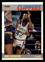 1987-88 Fleer #128 Mike Woodson Ex-Mint Basketball