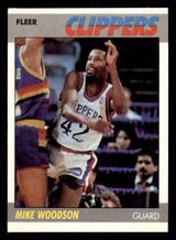 1987-88 Fleer #128 Mike Woodson Near Mint Basketball  ID: 303522