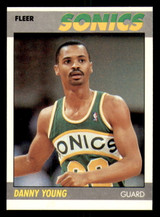 1987-88 Fleer #131 Danny Young Near Mint RC Rookie Basketball  ID: 303527