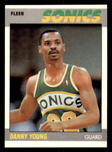 1987-88 Fleer #131 Danny Young Near Mint+ RC Rookie Basketball  ID: 303528