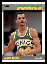 1987-88 Fleer #131 Danny Young Near Mint RC Rookie Basketball  ID: 303529