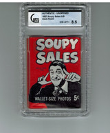1967 Topps Soupy Sales 5 Cents Wax Pack GAI 8.5 NM-MT+  #*