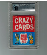 1961 Topps Crazy Cards 5 Cents Unopened Wax Pack GAI 9 MINT  #*