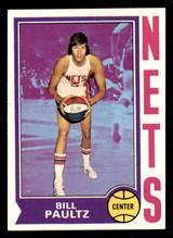 1974-75 Topps #262 Billy Paultz Near Mint+  ID: 304391