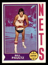 1974-75 Topps #262 Billy Paultz Ex-Mint