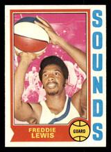 1974-75 Topps #263 Freddie Lewis Ex-Mint  ID: 304395