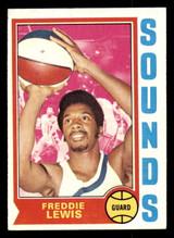 1974-75 Topps #263 Freddie Lewis Ex-Mint  ID: 304396