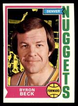 1974-75 Topps #264 Byron Beck Near Mint