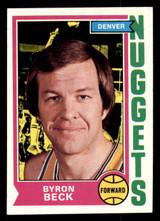 1974-75 Topps #264 Byron Beck Ex-Mint