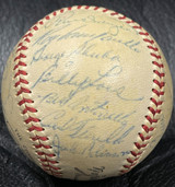 1953 Brooklyn Dodgers Team Signed NL Baseball Roy Campanella Jackie Robinson PSA/DNA