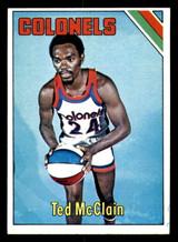 1975-76 Topps #311 Ted McClain Near Mint